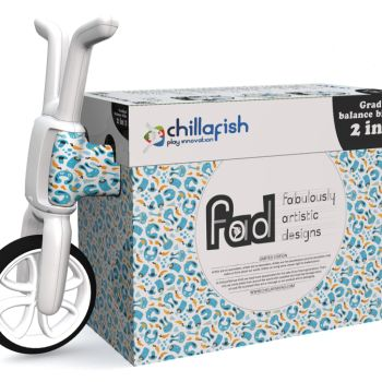 Беговел-каталка Chillafish Bunzi (авторский дизайн, резиновые колеса) сладости