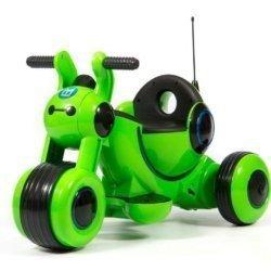 Детский электромотоцикл HL300 Green 6V - HL300-G (музыка, световые эффекты, мягкие колеса EVA)