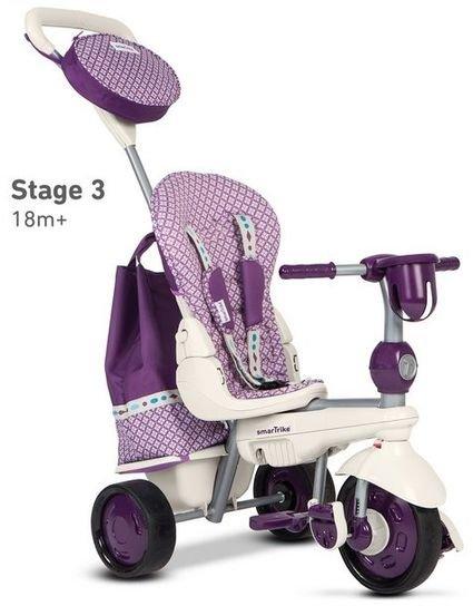 Велосипед Smart Trike 5в1 Dazzle/Splash Purple (от 10 месяцев до 3х лет)